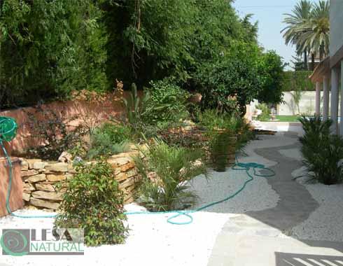 Creación jardín privado